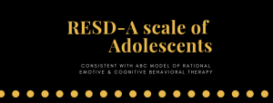 RESD-A scale of Adolescents
